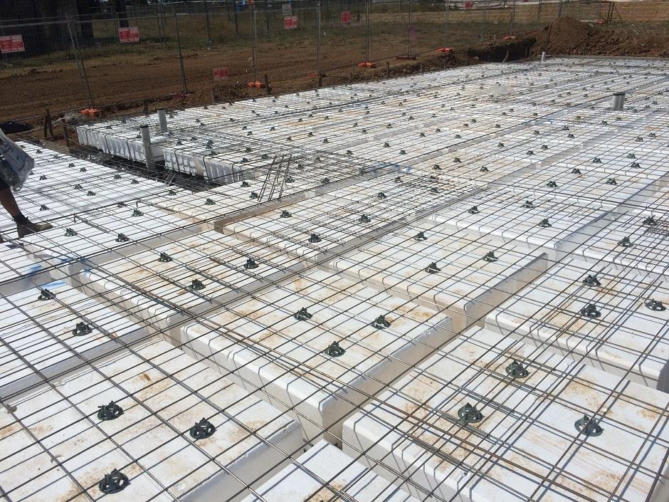 Waffle Slab Construction Waffle Pods Sydney